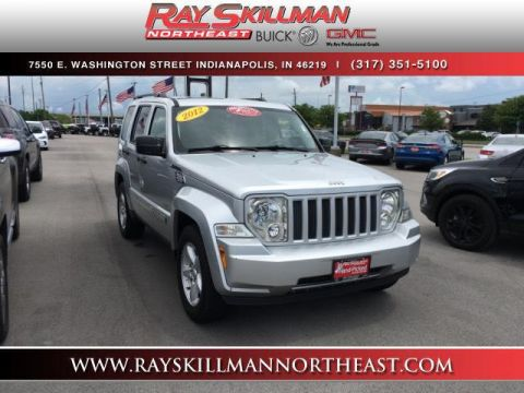 Pre-Owned 2012 Jeep Liberty 4WD 4dr Sport Latitude