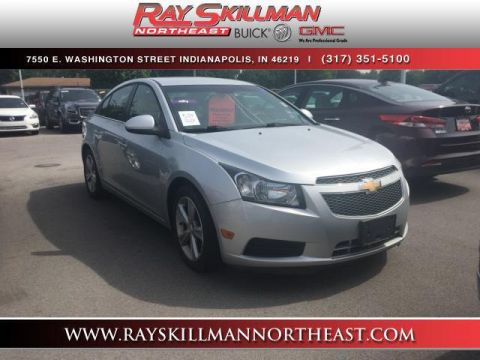 Pre-Owned 2012 Chevrolet Cruze 4dr Sdn LT w/2LT