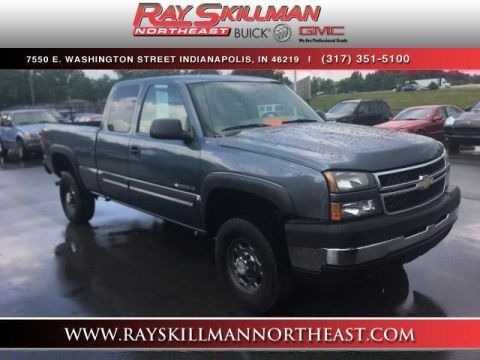 Pre-Owned 2007 Chevrolet Silverado 2500HD Classic 2WD Ext Cab 143.5 LT1