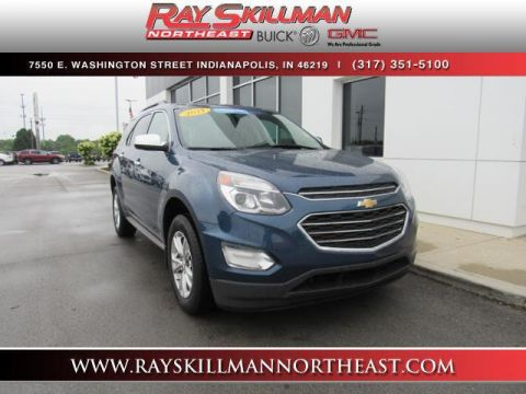 Certified Pre-Owned 2017 Chevrolet Equinox FWD 4dr LT w/1LT