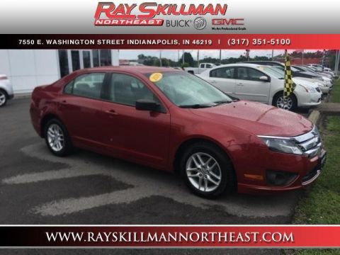 Pre-Owned 2010 Ford Fusion 4dr Sdn S FWD