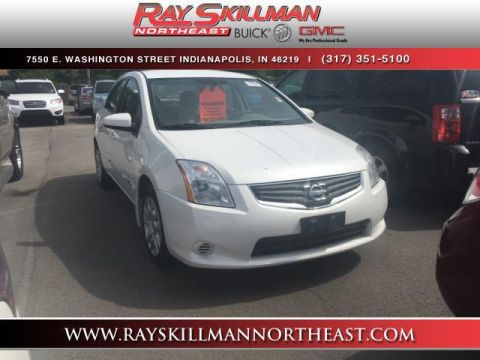 Pre-Owned 2012 Nissan Sentra 4dr Sdn I4 CVT 2.0 S