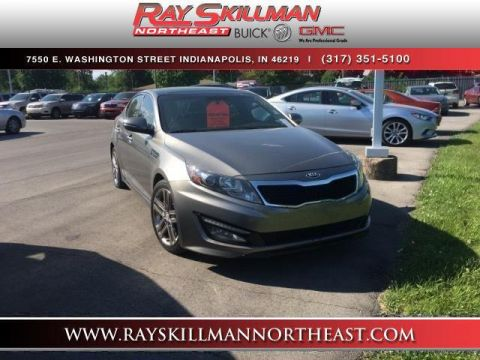 Pre-Owned 2013 Kia Optima 4dr Sdn SX w/Limited Pkg