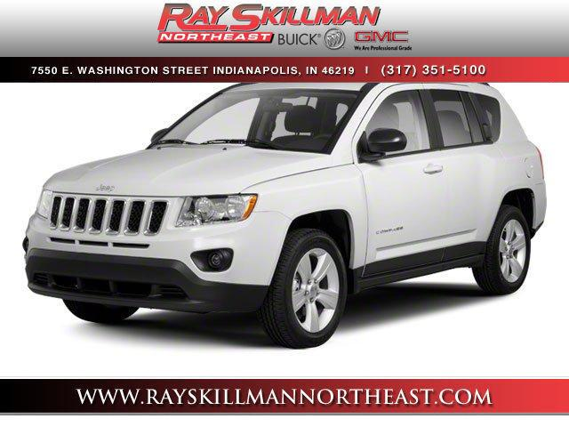Pre-Owned 2012 Jeep Compass 4WD 4dr Limited