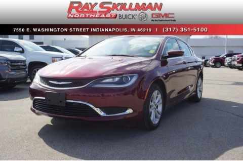 Pre-Owned 2017 Chrysler 200 Limited Platinum FWD