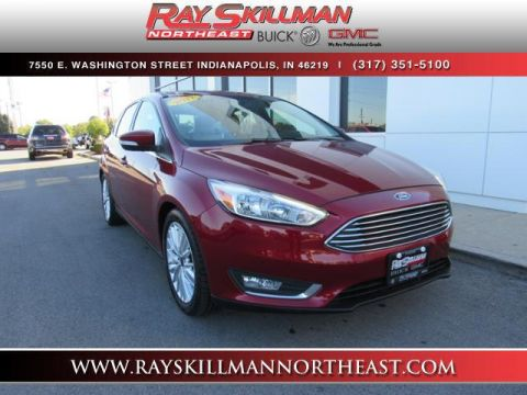 Pre-Owned 2017 Ford Focus Titanium Hatch
