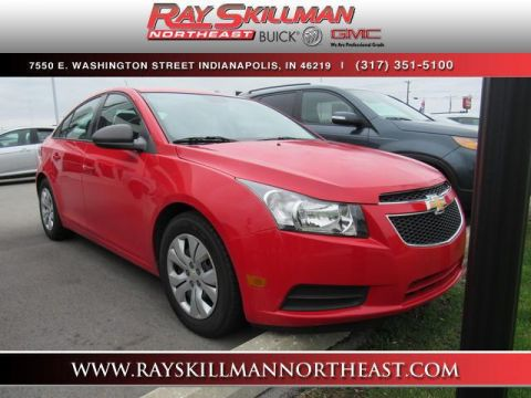 Pre-Owned 2014 Chevrolet Cruze 4dr Sdn Auto LS