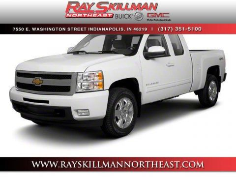 Pre-Owned 2010 Chevrolet Silverado 1500 4WD Ext Cab 143.5 LT