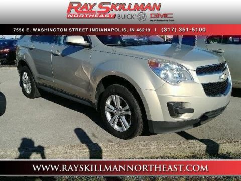 Pre-Owned 2010 Chevrolet Equinox FWD 4dr LT w/1LT