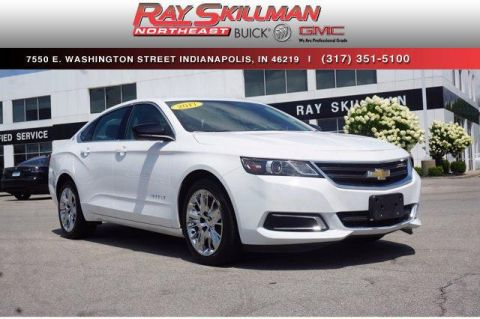 Pre-Owned 2017 Chevrolet Impala 4dr Sdn LS w/1FL