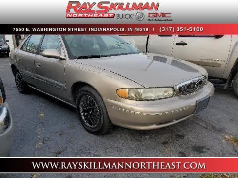 Pre-Owned 2001 Buick Century 4dr Sdn Custom