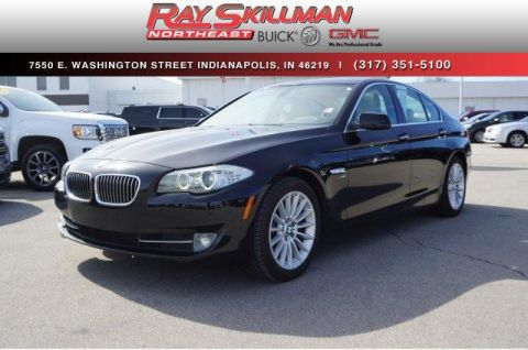 Pre-Owned 2011 BMW 5 Series 4dr Sdn 535i xDrive AWD